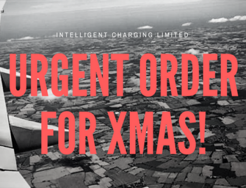 Urgent order just before Christmas Day? No problem for Intelligent Charging!